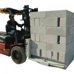 Tulla prej betoni hidraulike Forklift / kapëse ngritëse bllokimi