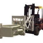 Mbërthendjet e gomave Forklift Bashkangjitëse të gomave Teleskopike të Gomave