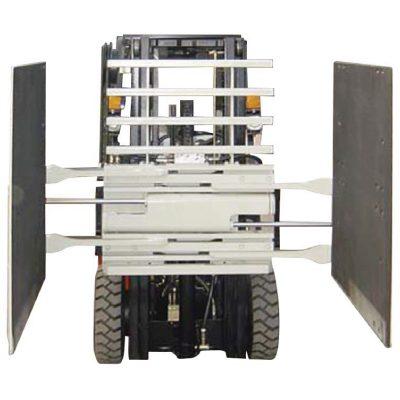 Mbërthecë kartoni bashkëshorti Forklift Klasa 3 & 1220 * 1420 mm Madhësia e krahut