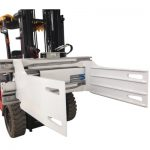 Prodhim industrial Forklift Revoling Bale Clamp