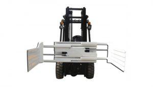 Mbërthim i efektshëm hidraulik rrotullues i bales për kamion Forklift