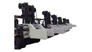 2.7 Ton Shtojcat e pirgut Forklift Bale