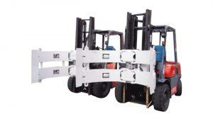 Forklift hidraulik Forklift 25f Pjesë kapëse letre që përdoren në përballjen e bordit të gipsit