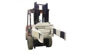 Mbërthendës pirun rrotullues i efektshëm hidraulik Forklift (2 palë pirun)