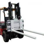 Mbërthecat anësore të shiritit anësor me Forklift