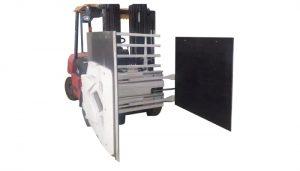 Mbërthecë kartoni për kamion Forklift, Mbërthecë kartoni për bashkim lidhëse Forklift, mbajtës kartoni.