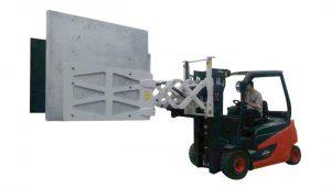 Mbërthecka kartoni letre me pajisje elektronike Forklift